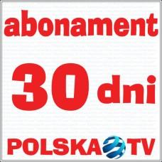 PolskaTV #30days server transfer (bez dekodera)